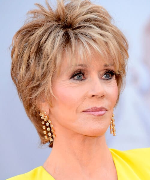 jane fonda hairstyle this star hairstyle is a good idea for women over ...
