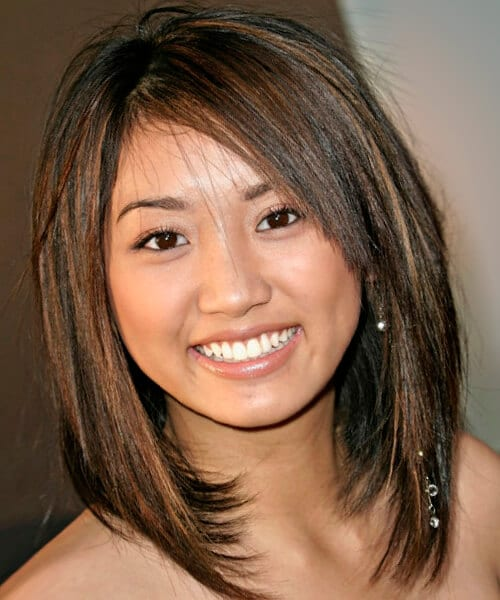 Long Bob Haircuts For Round Faces Best Hairstyle And Haircut Ideas