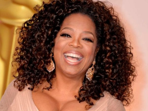 Oprah Winfrey curly hairstyle