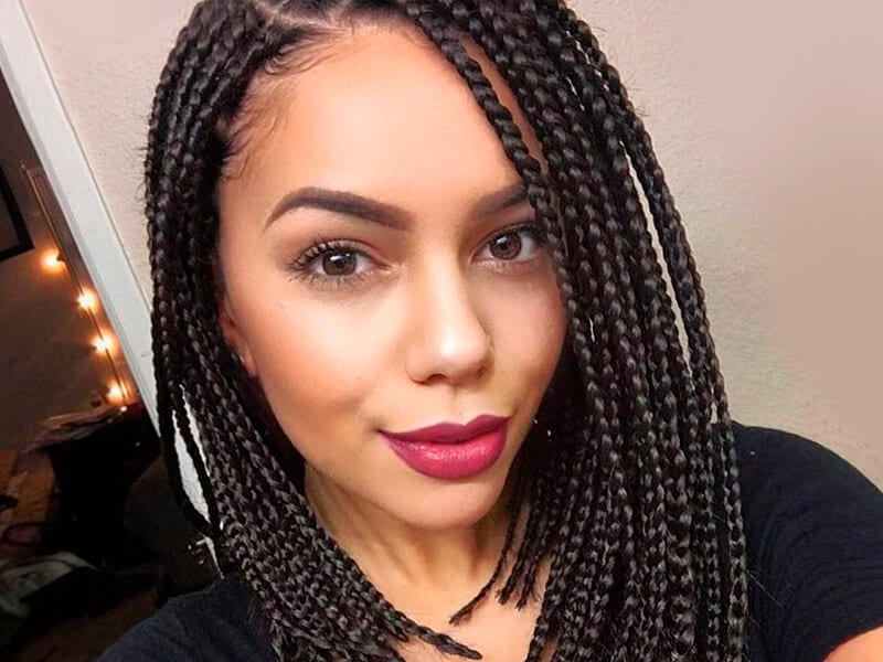 Wondrous Hairstyles With Braiding Hair Hairstyle Inspiration Daily Dogsangcom