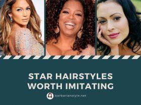 Star hairstyles worth imitating