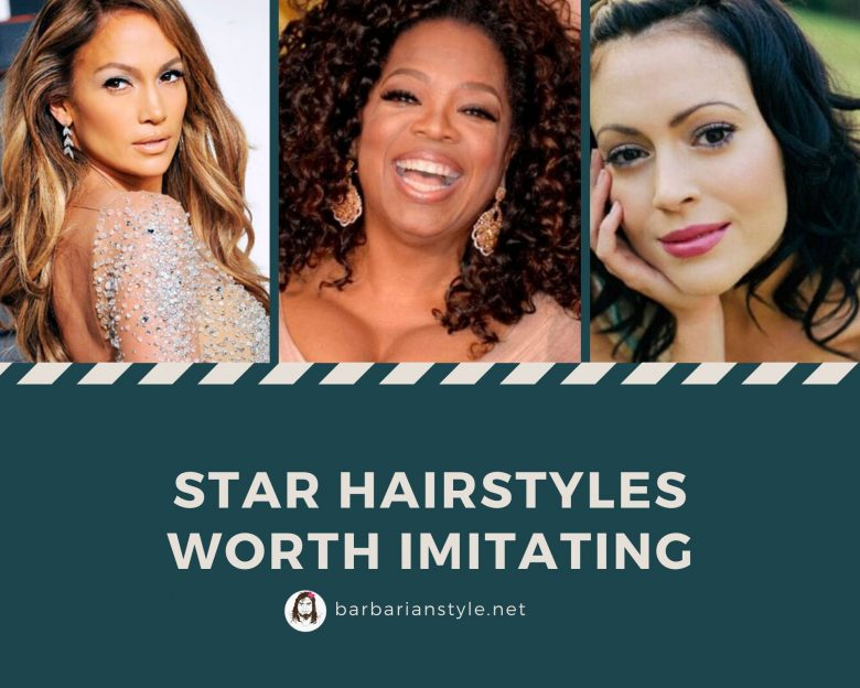 Star hairstyles worth imitating
