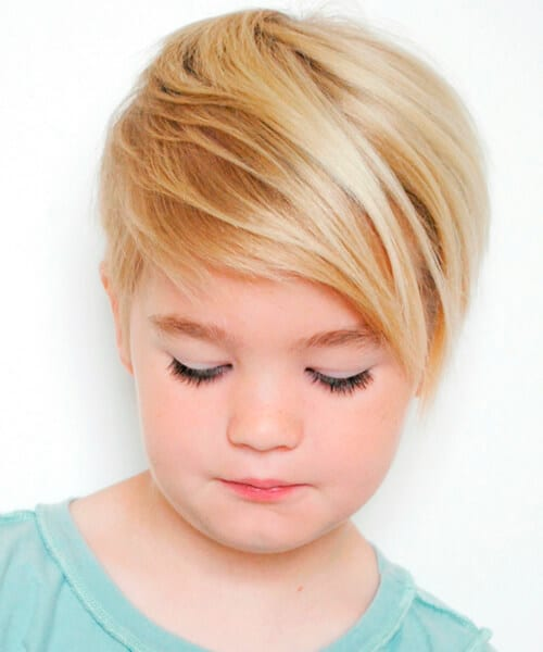 Little girl short haircut