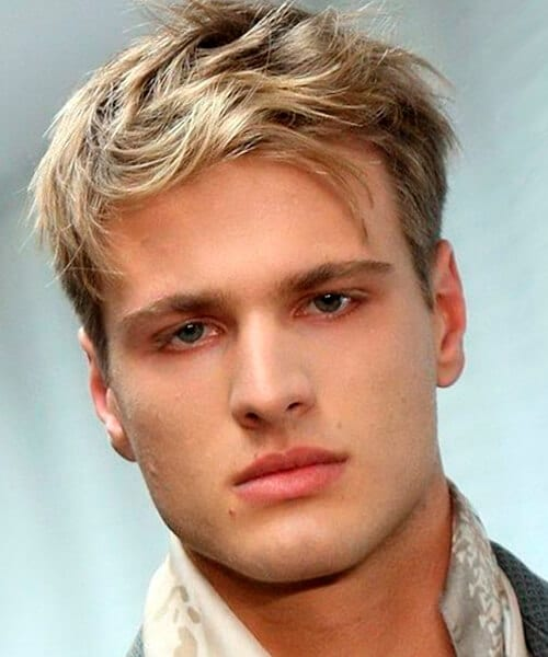 Hairstyles for short hair male and female versatile medium short blonde hairstyle for men pmusecretfo Choice Image