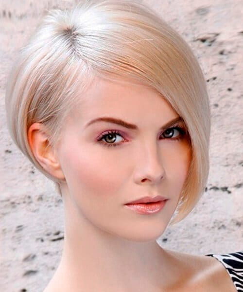Sweet tart short easy hairstyle