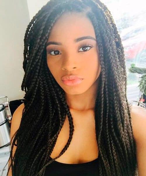 Cool African American Box Braids Pictures Braids Short Hairstyles Gunalazisus