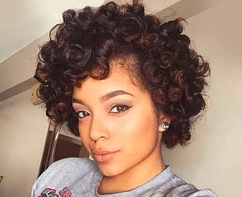 Surprising Natural Hairstyles For African American Women And Girls Short Hairstyles Gunalazisus