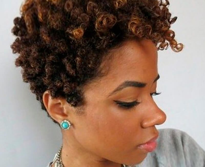 Style Natural Hair: Natural Hairstyles For African American Women And Girls