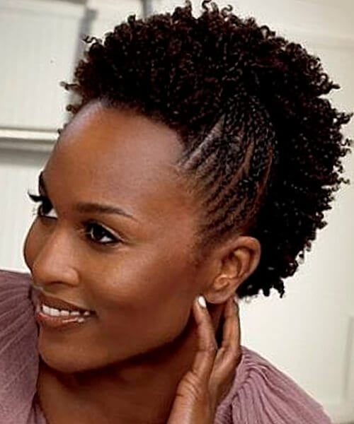 Awe Inspiring Natural Hairstyles For African American Women And Girls Hairstyles For Men Maxibearus