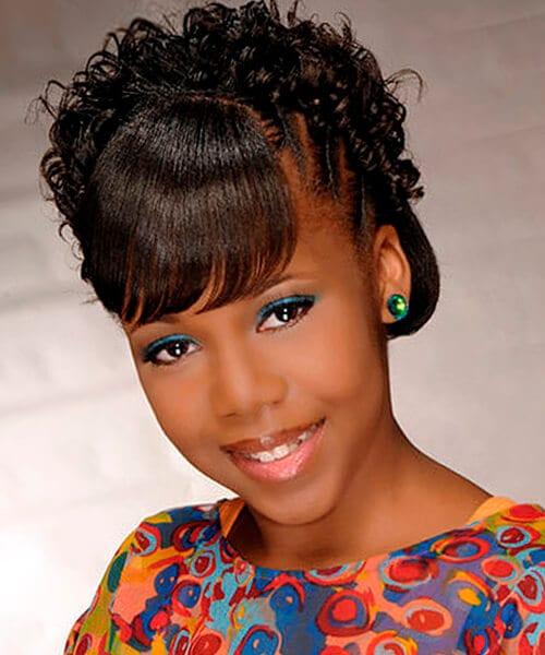 Outstanding Natural Hairstyles For African American Women And Girls Short Hairstyles For Black Women Fulllsitofus