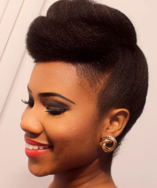 pompadour hairstyles for natural hair hairstyles by unixcode