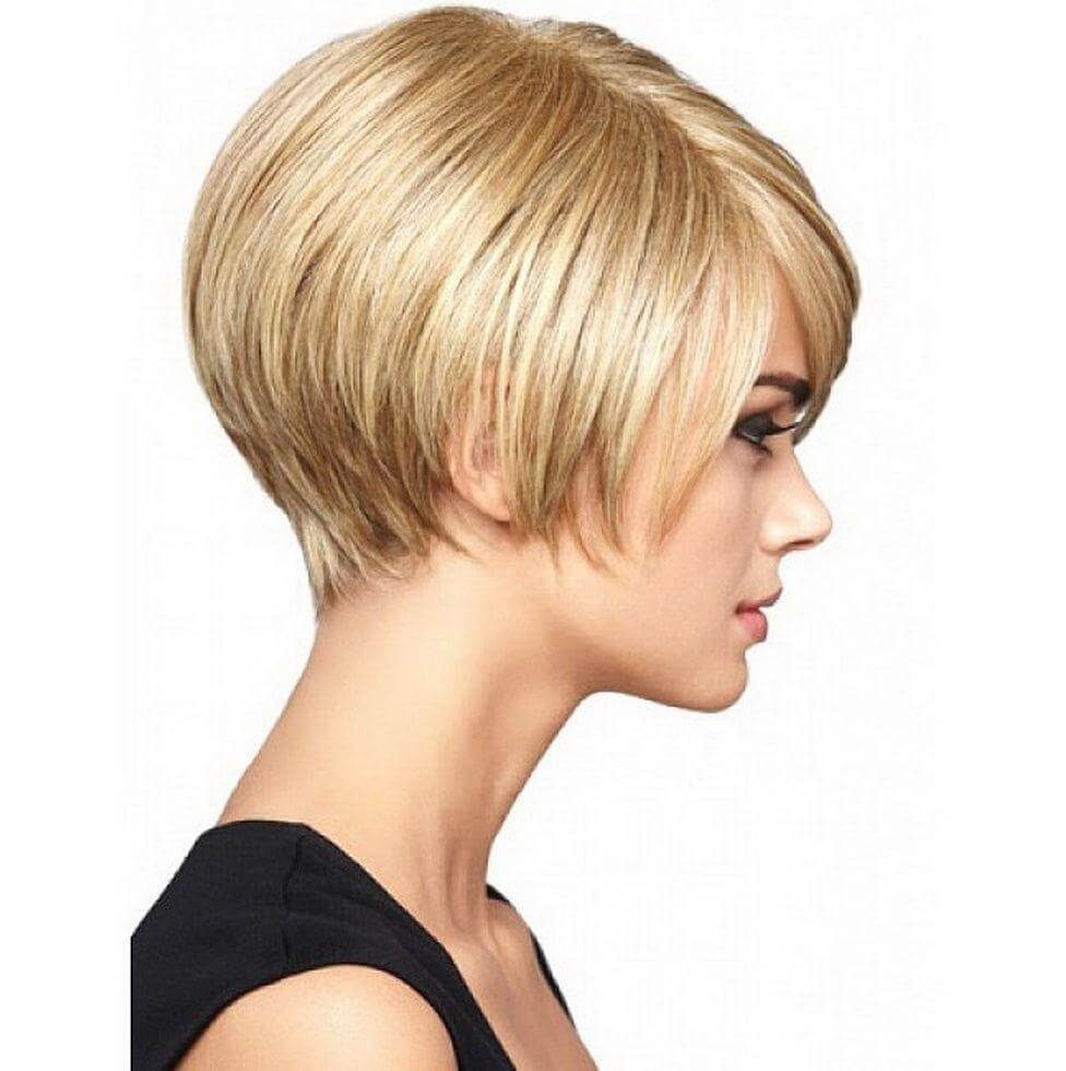 Short shag easy summer hairstyle