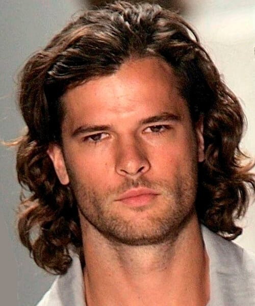Best men's long hairstyles for long faces