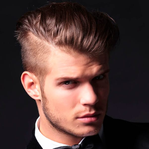 good hairstyles for fat faces : Pics Photos - Men S Classic Gelled Hairstyles