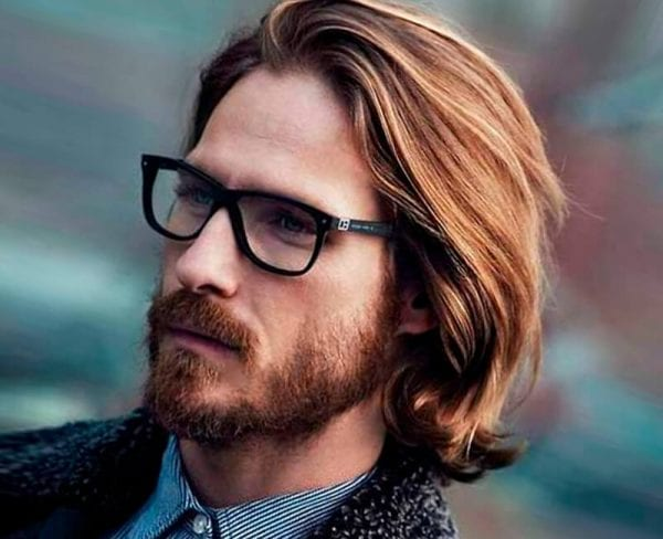 Men's easy hairstyles for long hair