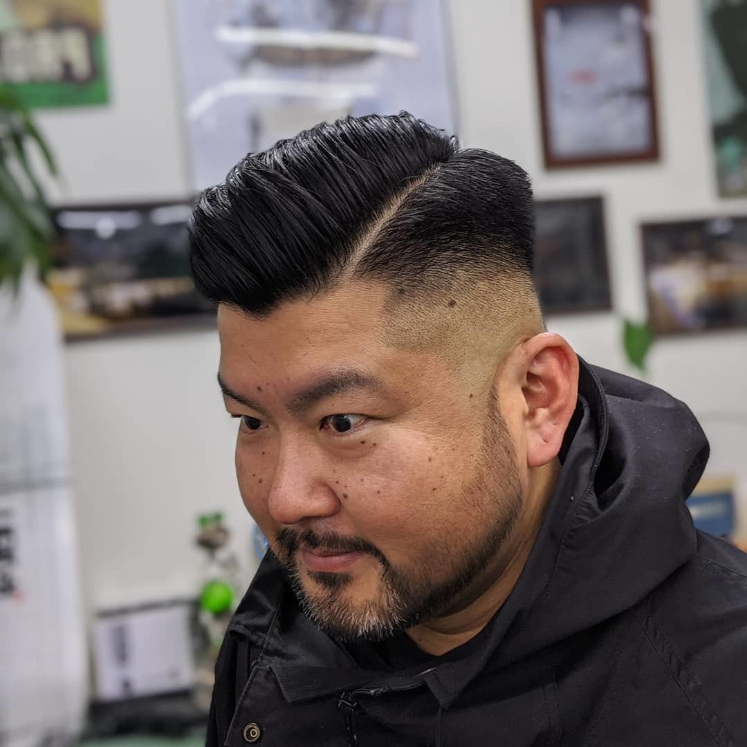 Asian Disconnected + Pompadour