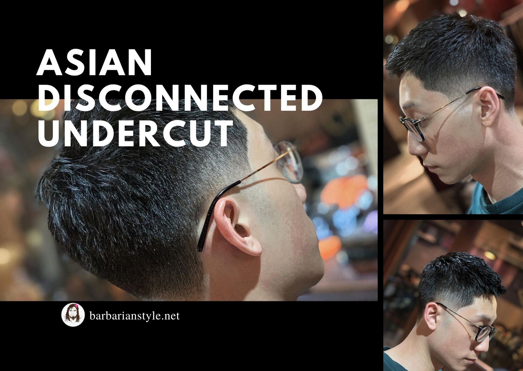 Asian Disconnected Undercut