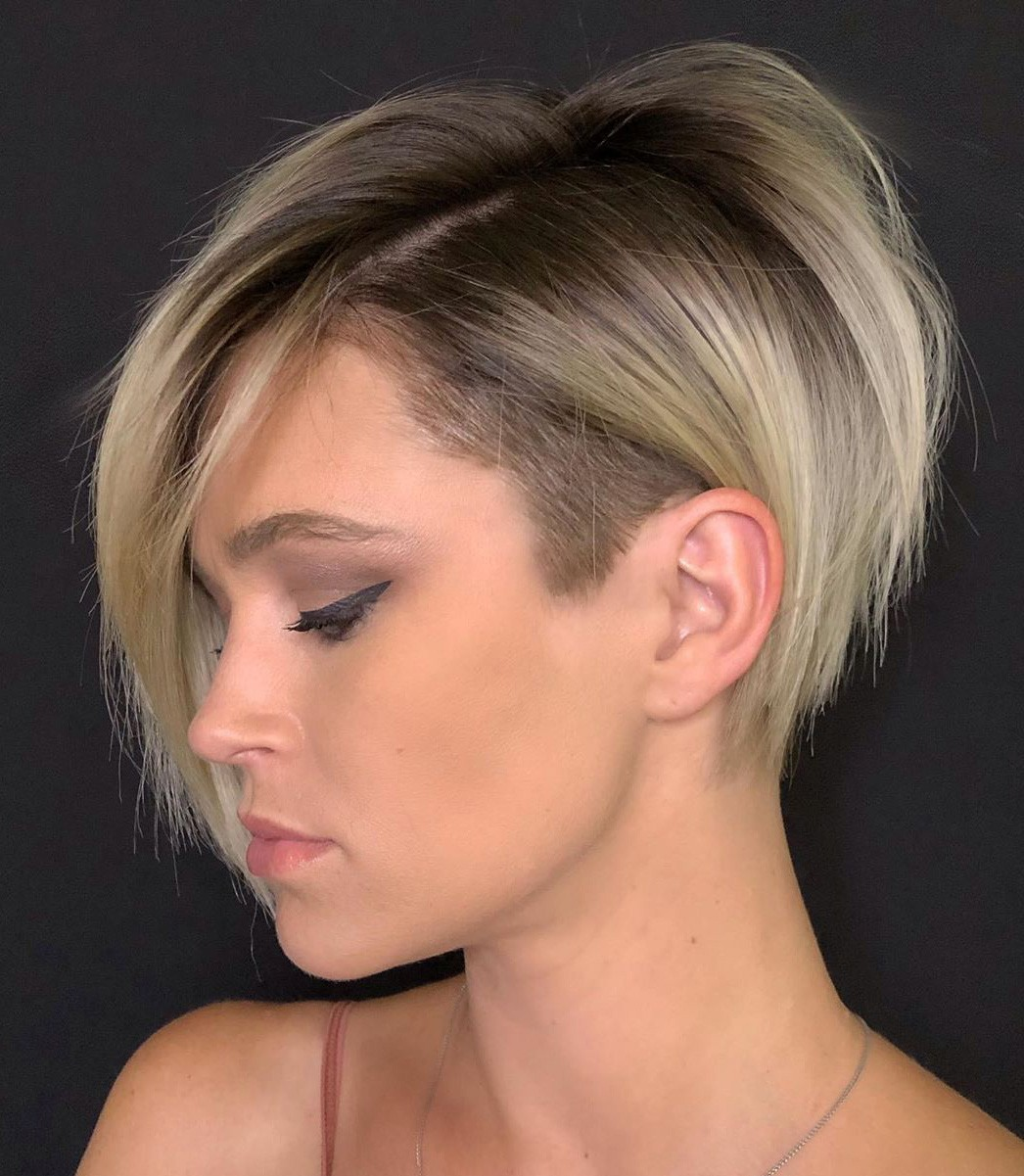 Asymmetrical Hairstyle