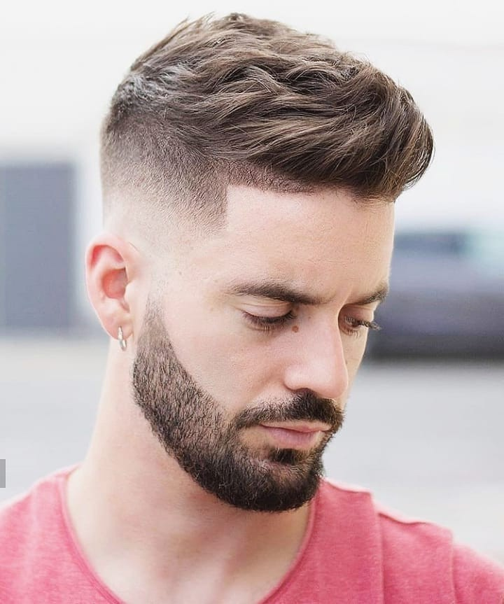 Comb Over Fade + Hair Part