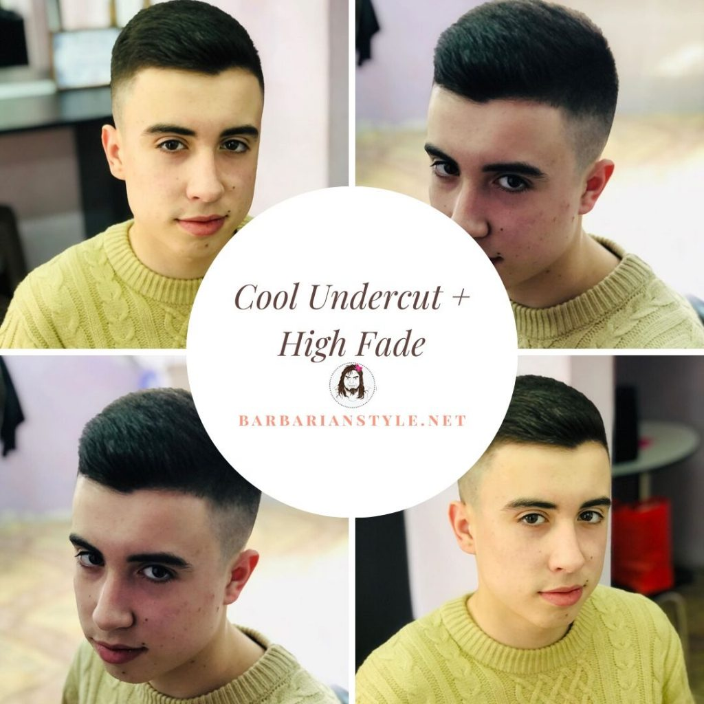 Cool Undercut + High Fade