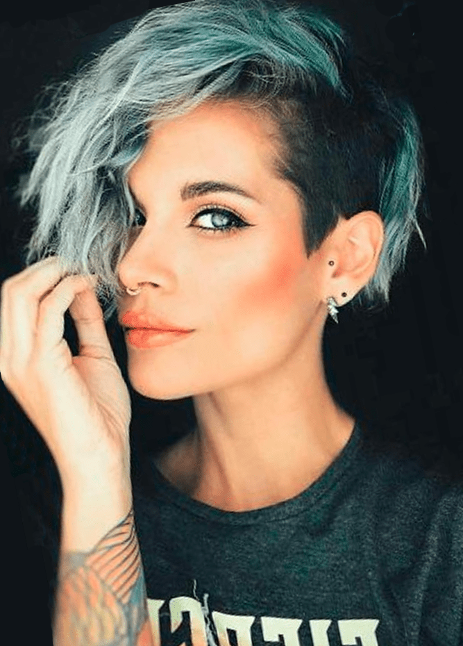 Short Hairstyle for Pixie Hair