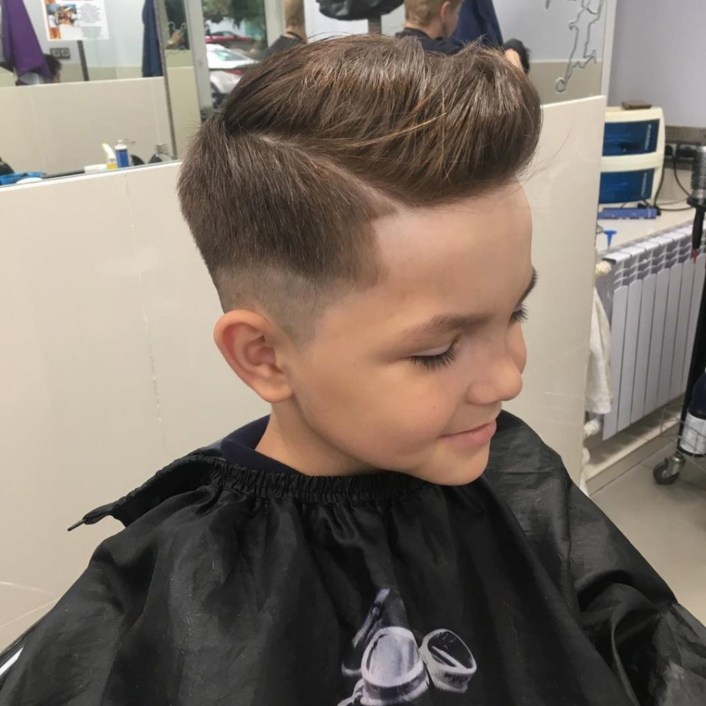 Undercut Fade for Boys