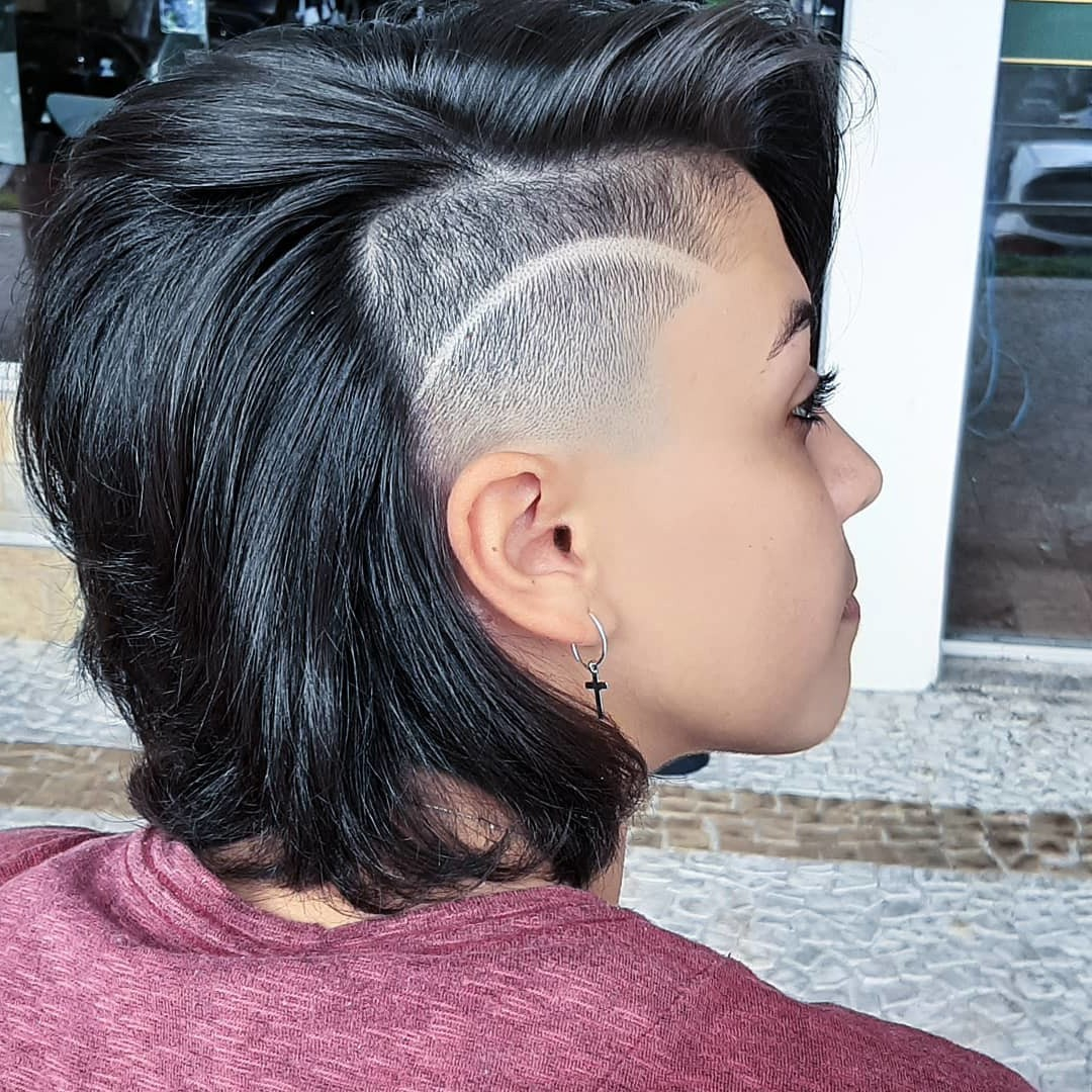 Undercut Hairstyle for Black Hair
