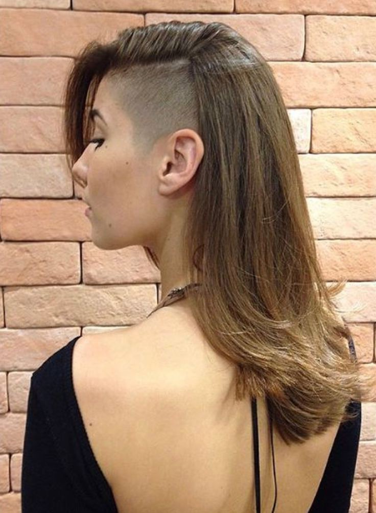 Side Part Hairstyle for Long Hair