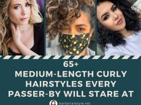 65+ Medium-Length Curly Hairstyles Every Passer-by Will Stare At