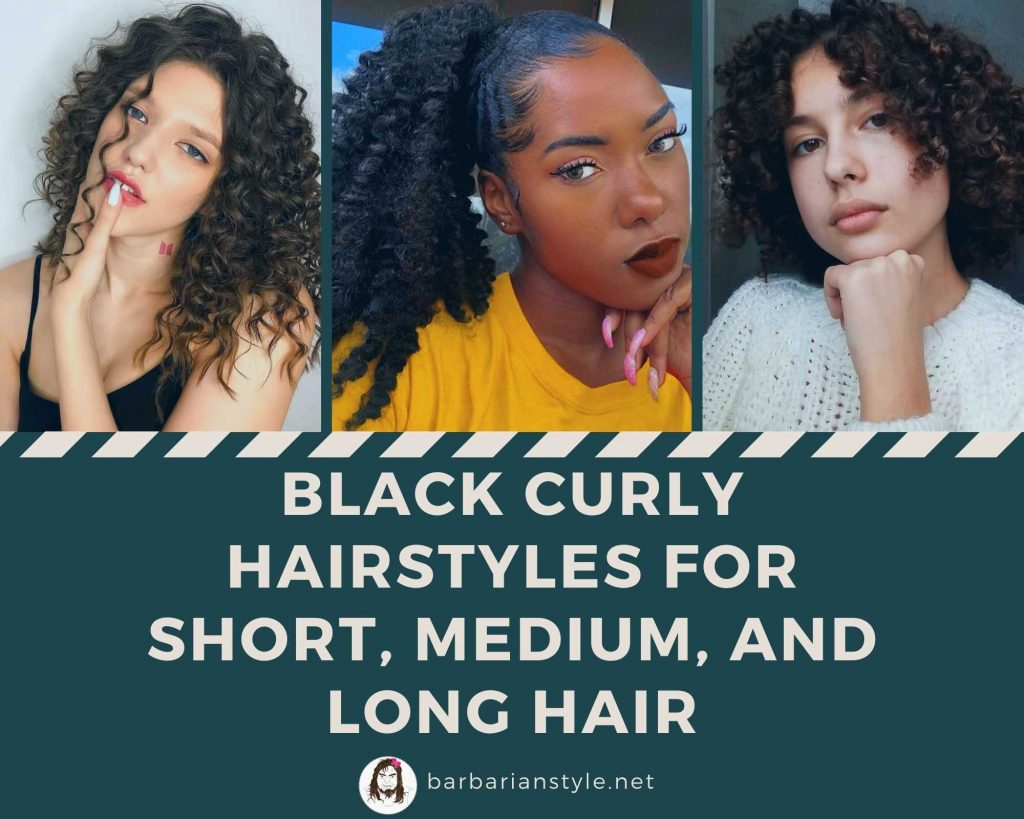 Black Curly Hairstyles for Short, Medium, and Long Hair