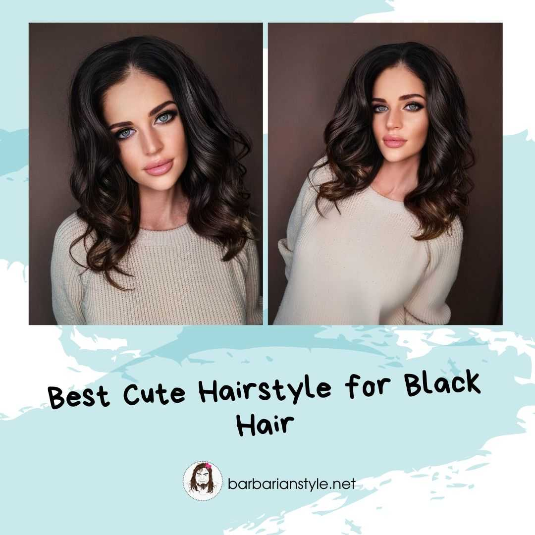 best cute hairstyle for black hair