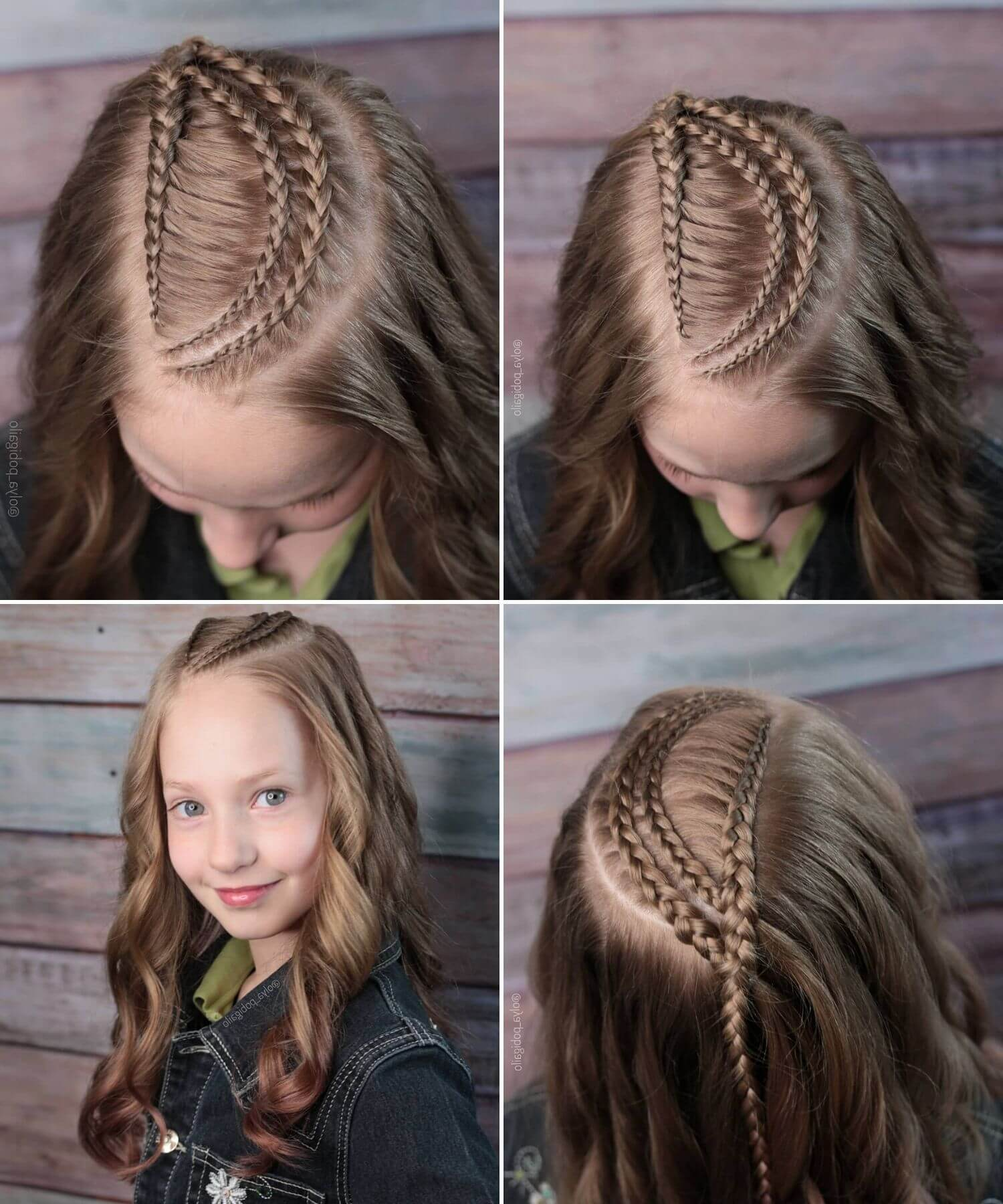 Braids for Kids with Long Naturally Curly Hair