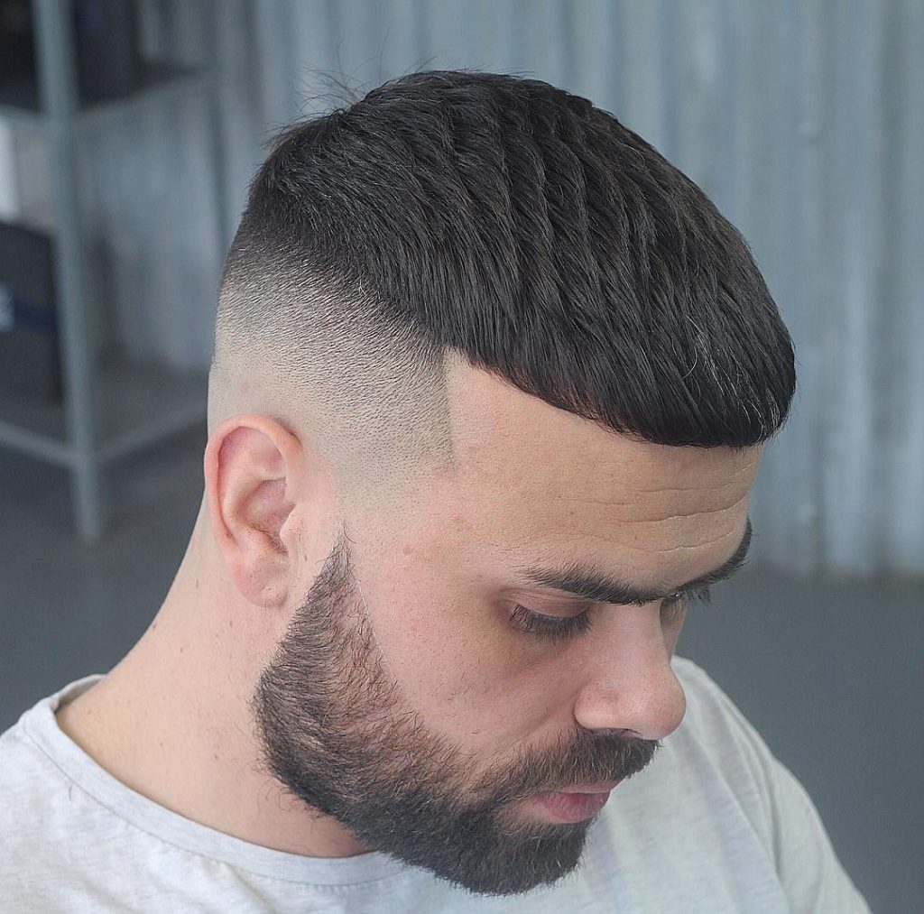 Faded Short Hair cut for Super Stylish Men