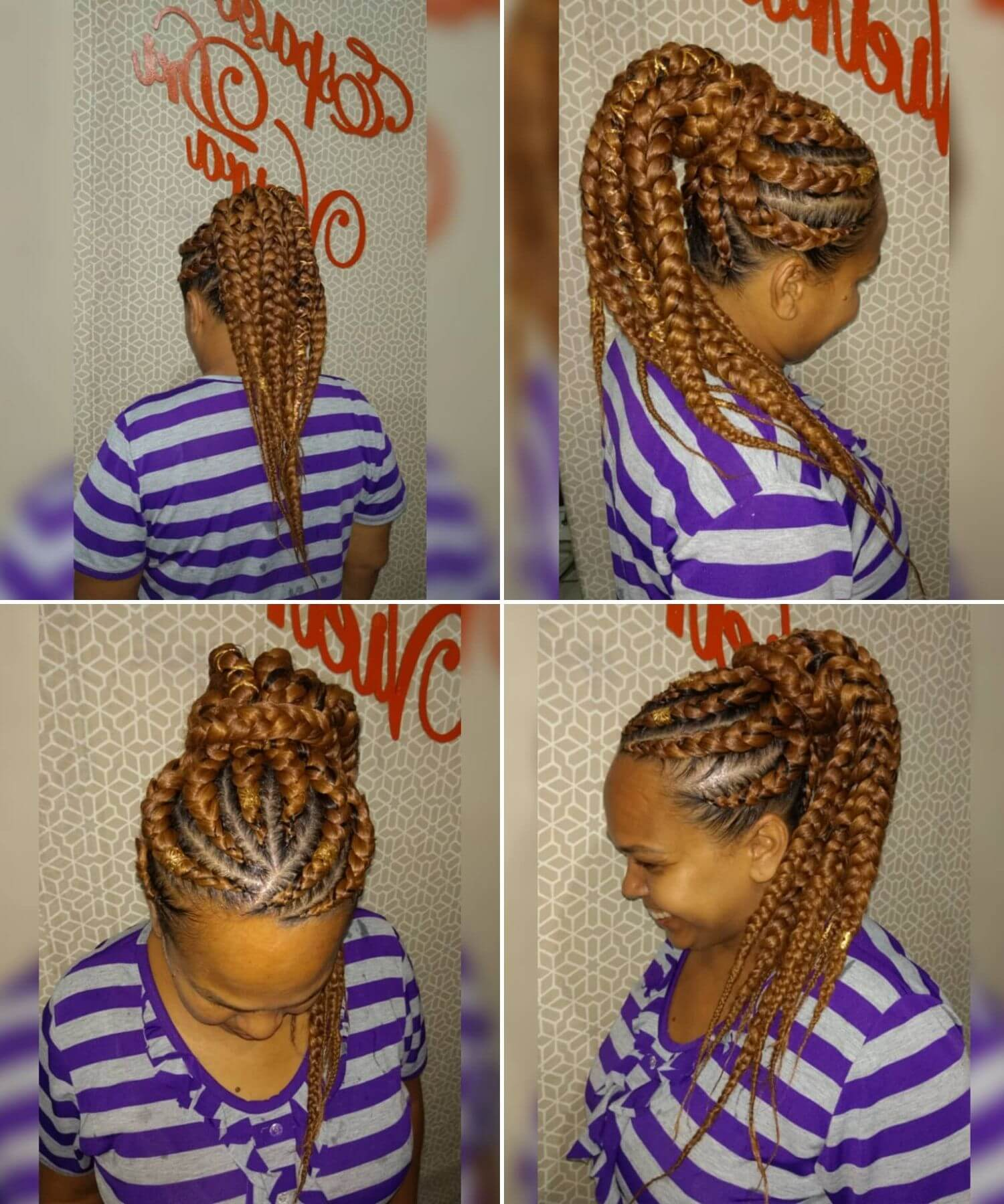 Long Box Braids for Stylish Ladies