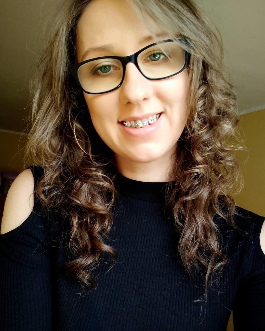 Medium-Length Curly Hair with Layers