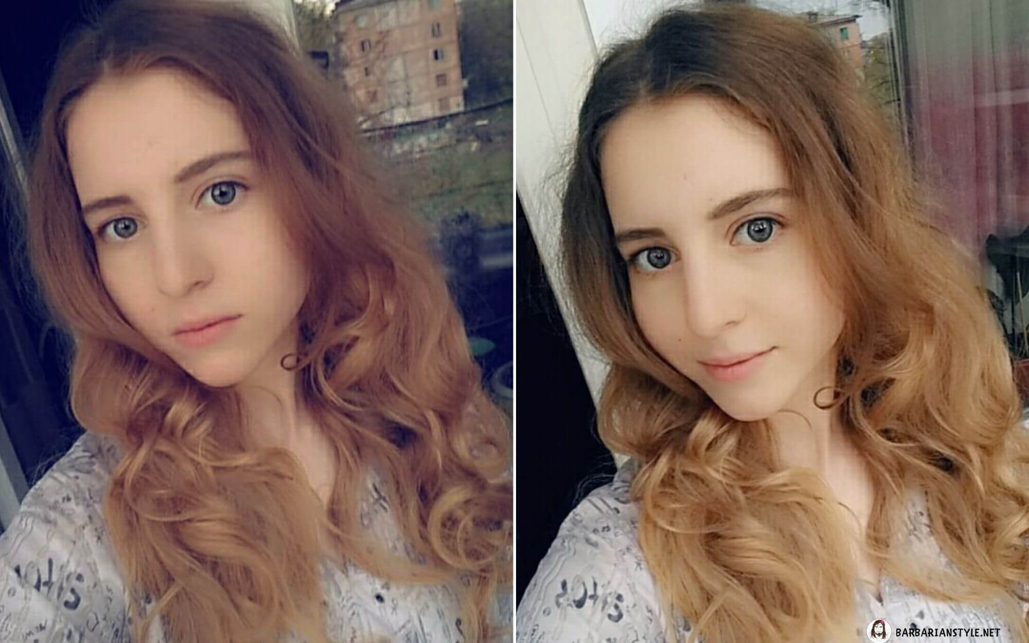 Medium-Length Hairstyle with Layers