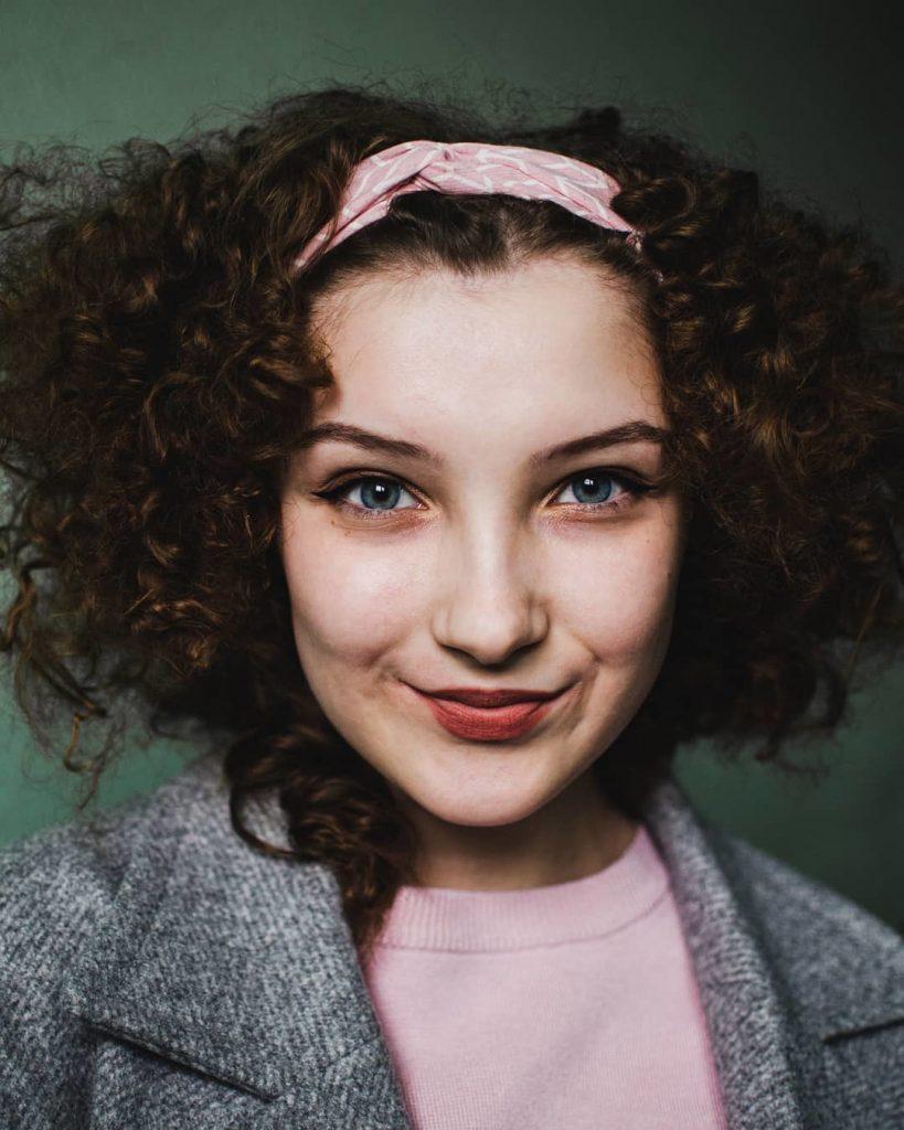 Short Black Haircut for Girls