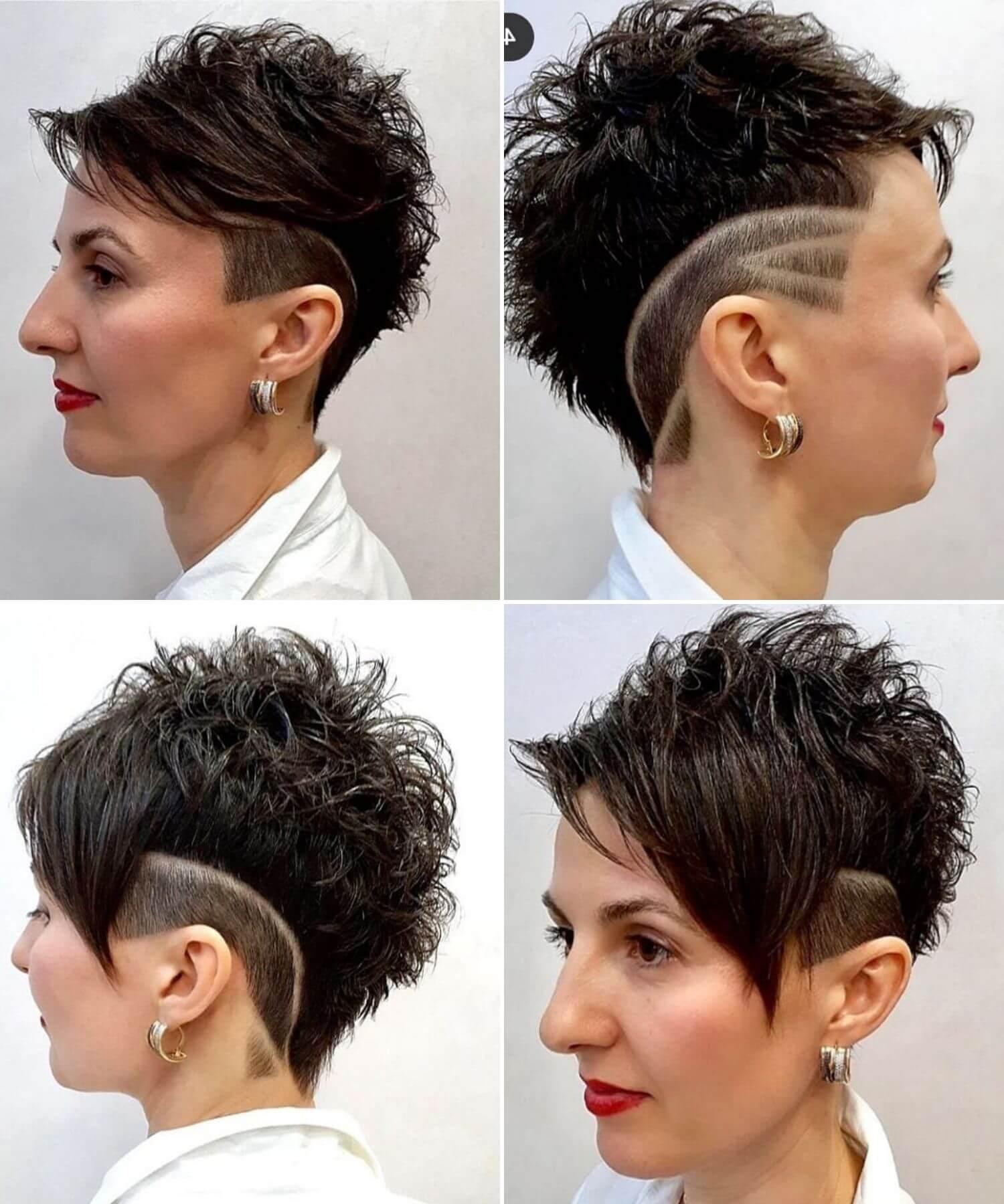 Short Black Pixie Haircut