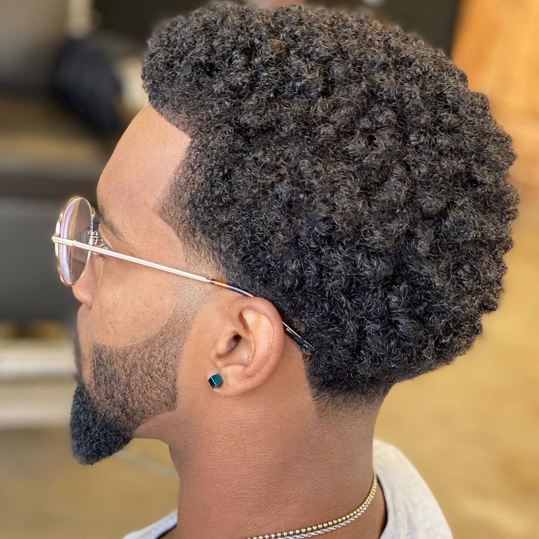 Short Curly Male Haircut for Any Occasion