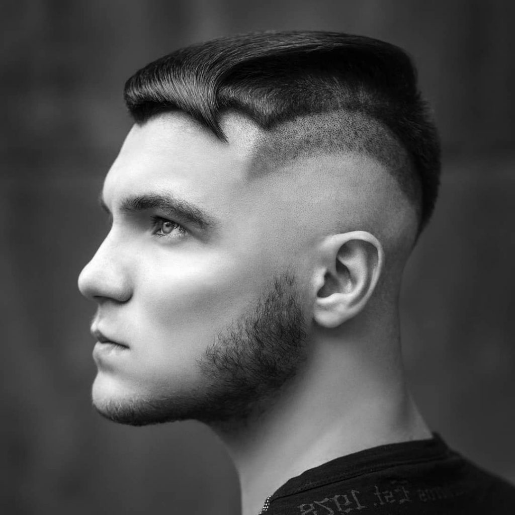 Short Faded Undercut for Males