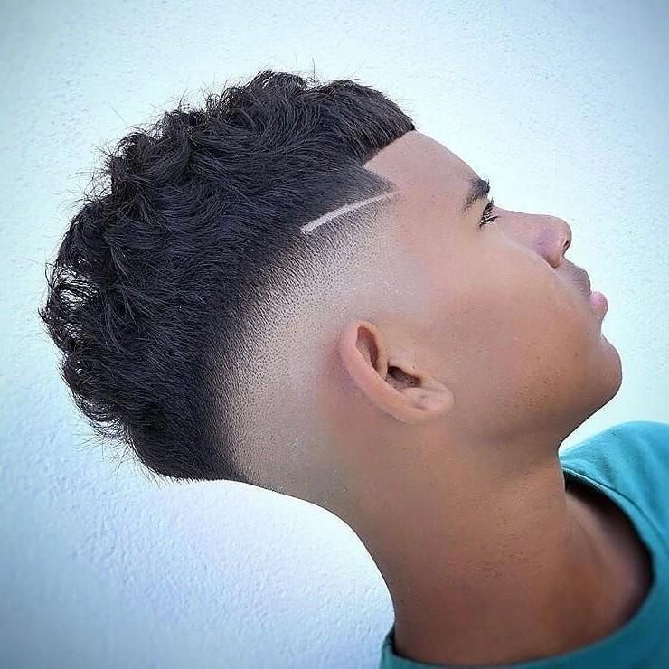 Short Hair cut for Curled Hair