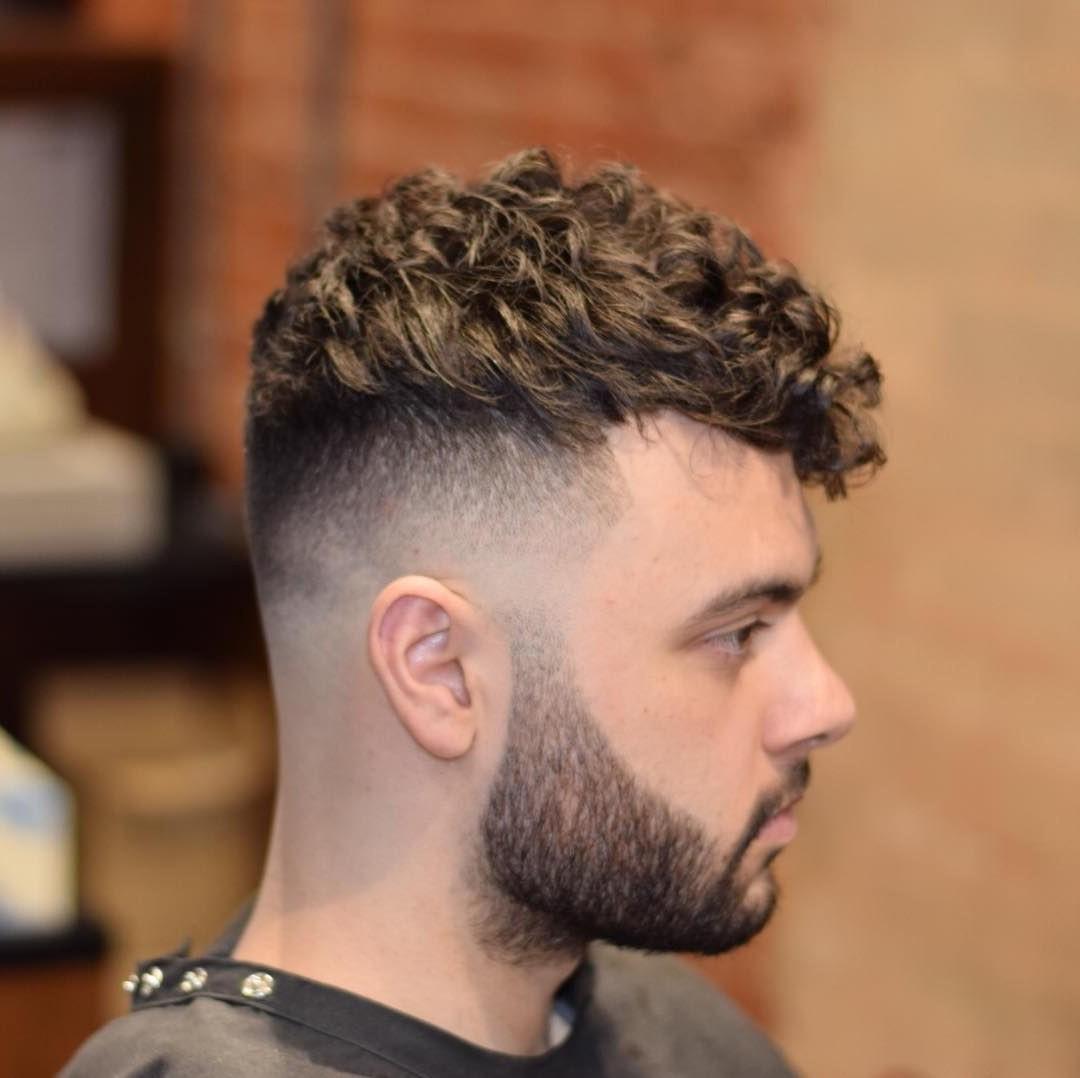 Short Undercut for Natural Wavy Hair