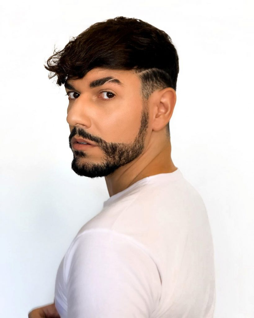 Short Undercut for Wavy Hair Type
