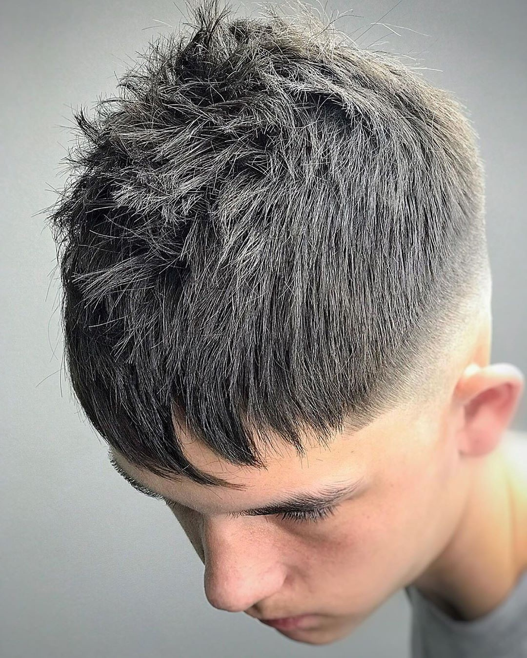 Short Undercut in the Casual Messy Style