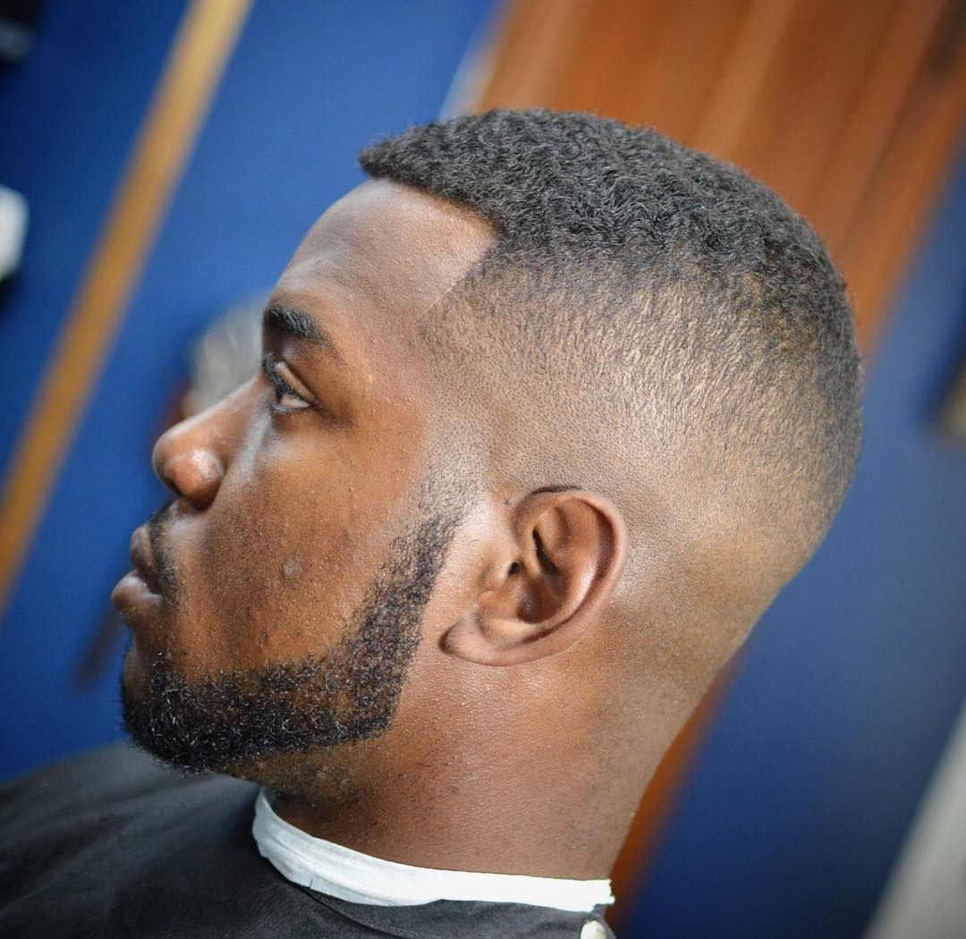 Short Haircut with a Well-Trimmed Beard