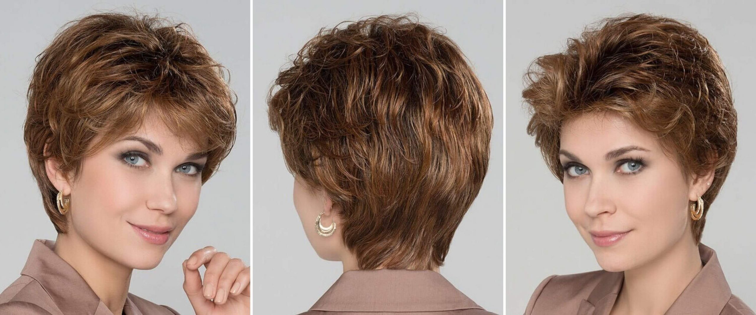 Short Wavy Bob for Any Occasion