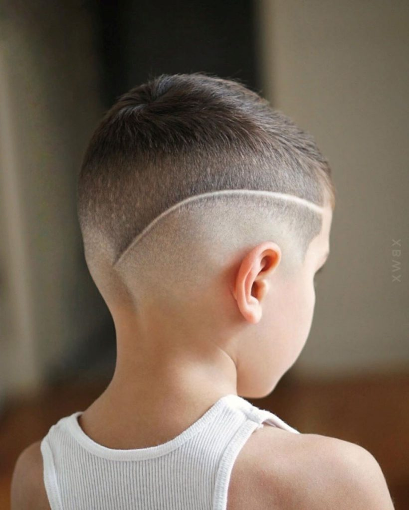 Skin Fade Hairstyle for Boys