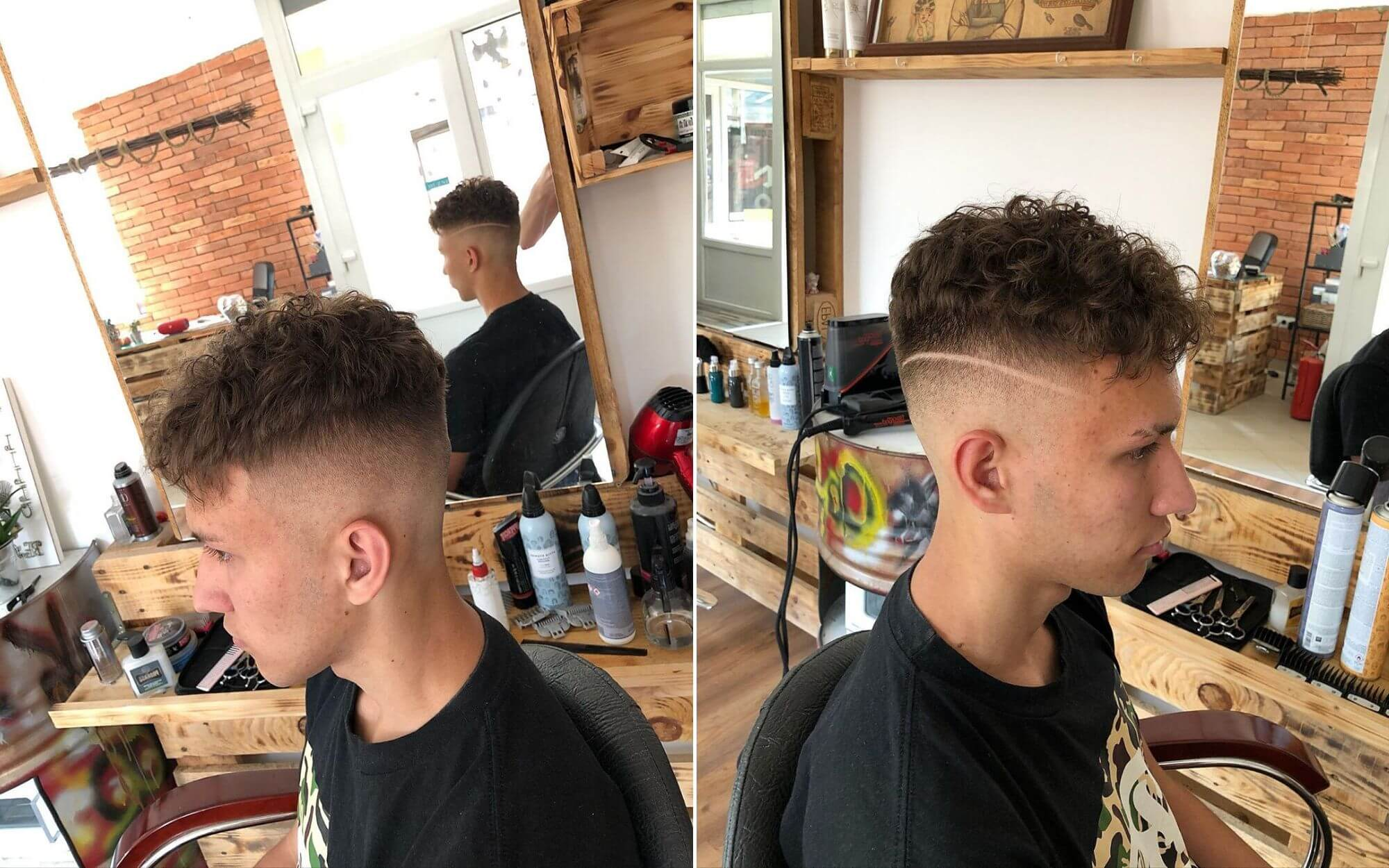 Super Messy Hair cut for Guys with Short Hair