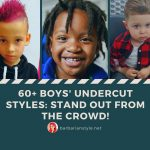 60+ Boys Undercut Styles Stand Out from the Crowd