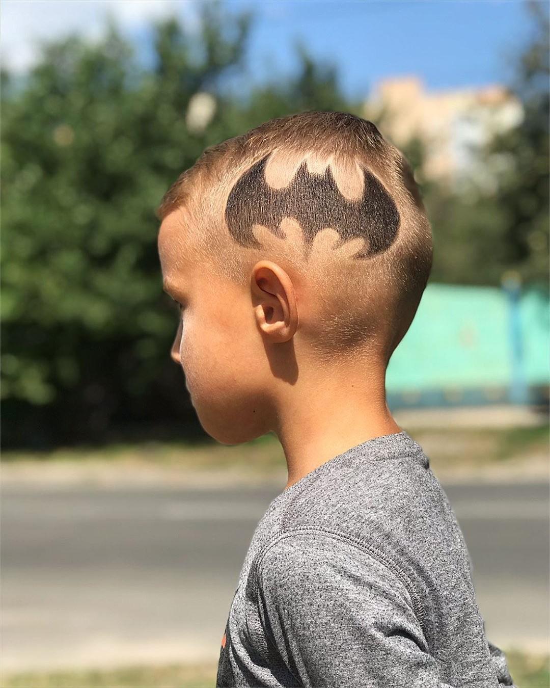 Batman Hairstyle Design for Children